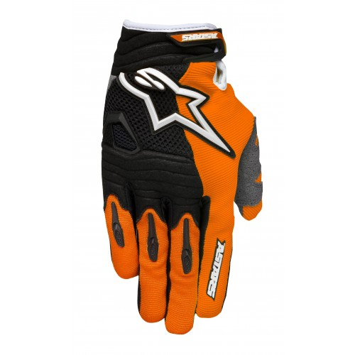 Handske Alpinestars Techstar Orange/Svart