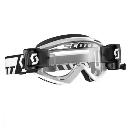 Scott Goggle RecoilXi WFS White Clear Works